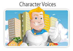 voice over website